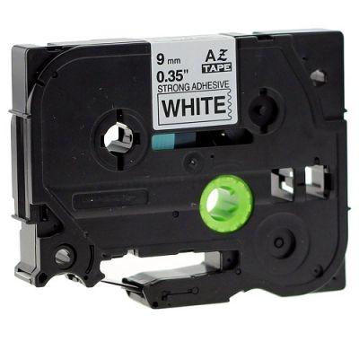 Muadil P-Touch 9AZE221 Beyaz-Siyah TZ-tape 9mm Etiket