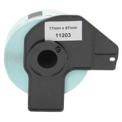 ETİKETİM - Muadil P-Touch Dosyalama Etiketi 17mmx87mm DK11203