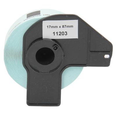 Muadil P-Touch Dosyalama Etiketi 17mmx87mm DK11203