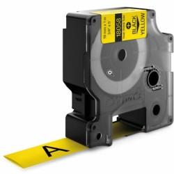 Etiketim - Muadil Rhino Pro Isıyla Küçülen Şerit 19mmx1.5m Sarı-Siyah 18058