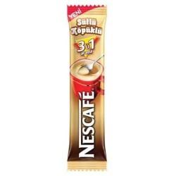 Nescafe - Nescafe 3ü1 Arada Sütlü Köpüklü 72'li