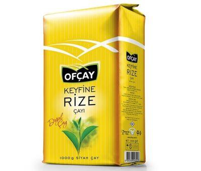 Ofçay Keyfine Rize Çayı Dökme 1000 gr