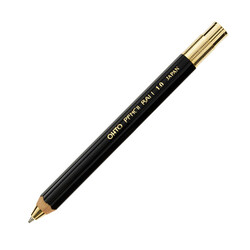 Ohto - Ohto Pencil Ball Tükenmez Kalem Siyah BP-680E-BK