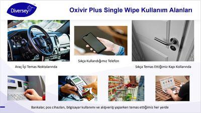 Oxivir Excel Wipe Dezenfektan Mendil 100lü - 70024308