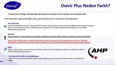 Oxivir Sert Yüzeyler İçin Hijyenik Mendil 30 Adet - 70024329