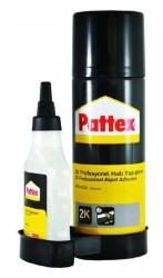 Pattex - Pattex 2K Aktivatörlü Hızlı Yapıştırıcı 200ml Aerosol+50ml