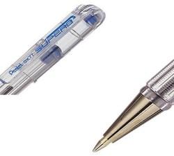 Pentel Metal Uçlu 0.7mm Mavi Roller Kalem BK77 - Thumbnail