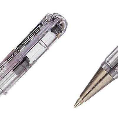 Pentel Metal Uçlu 0.7mm Siyah Roller Kalem BK77