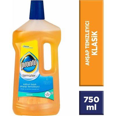 Pronto Ahşap Temizleyici Klasik Sabun Bazlı 750 ml