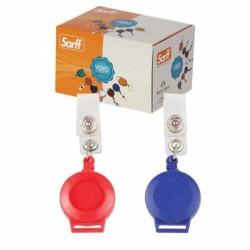 SARFF - Sarff Kancalı Yuvarlak Yoyo Kutu Beyaz