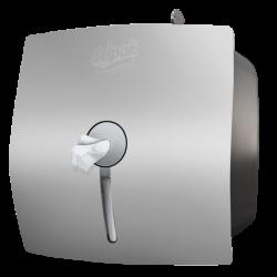 SELPAK APARAT - Selpak Professional İçten Çekmeli Tuvalet Kağıdı Dispenseri Gri