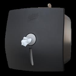 SELPAK APARAT - Selpak Professional İçten Çekmeli Tuvalet Kağıdı Dispenseri Siyah