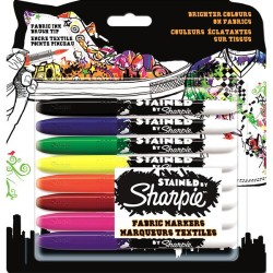 SHARPİE - Sharpie Stained Tekstil Kalemi 8 Renk
