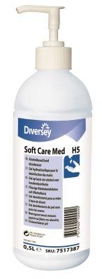 Soft Care MED H5 Alkol Bazlı El Antiseptiği 500ml