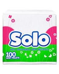 Solo - Solo Peçete 30x30 100'lü