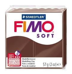 Staedtler - Staedtler Fimo Soft Modelleme Kili Çikolata Kahve 8020-75