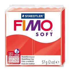 Staedtler - Staedtler Fimo Soft Modelleme Kili Kızıl 8020-24