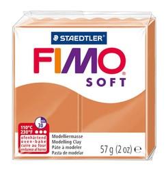 Staedtler - Staedtler Fimo Soft Modelleme Kili Konyak 8020-76