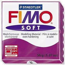 Staedtler - Staedtler Fimo Soft Modelleme Kili Mor 8020-61