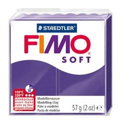 Staedtler - Staedtler Fimo Soft Modelleme Kili Mürdüm 8020-63
