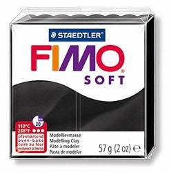 Staedtler - Staedtler Fimo Soft Modelleme Kili Siyah 8020-9