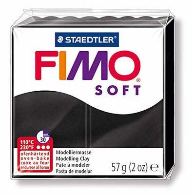 Staedtler Fimo Soft Modelleme Kili Siyah 8020-9