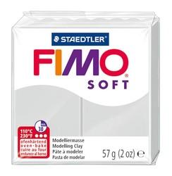 Staedtler - Staedtler Fimo Soft Modelleme Kili Yunus Gri 8020-80