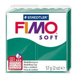Staedtler - Staedtler Fimo Soft Modelleme Kili Zümrüt Yeşili 8020-56