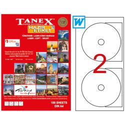 Tanex - Tanex Cd Etiketi 117mm TW-3117