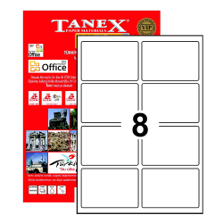 Tanex - Tanex Etiket Laser 95.5x65.5 TW-2308