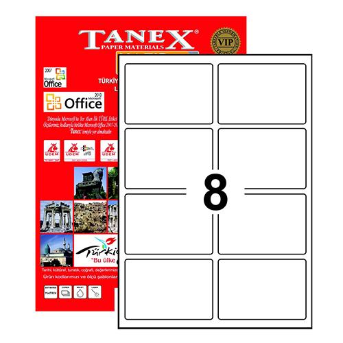 Tanex Etiket Laser 95.5x65.5 TW-2308