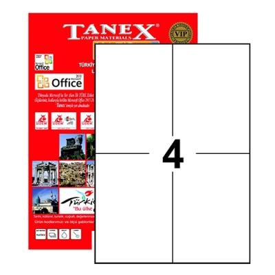 Tanex Laser Etiket 105mmx148.5mm TW-2204