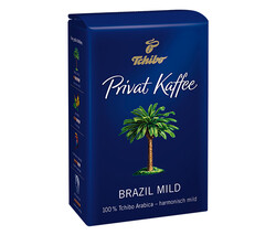 Tchibo - Tchibo Privat Kaffee Brazil Mild Öğütülmüş Filtre Kahve 250gr