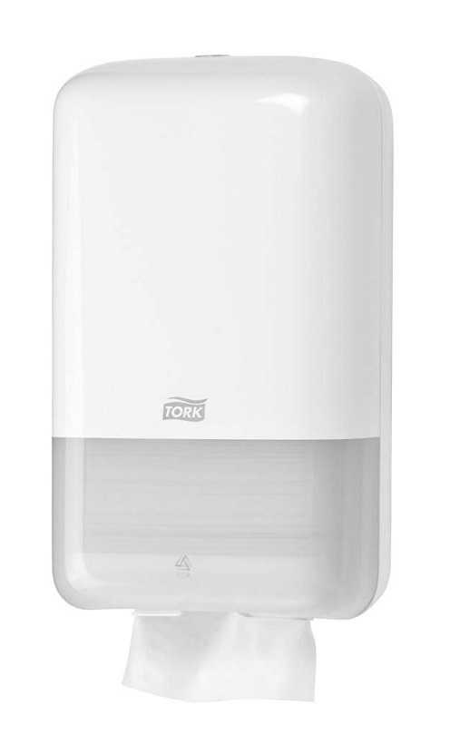 Tork Katlamalı Tuvalet Kağıdı Dispenseri Beyaz
