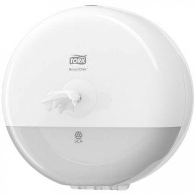 Tork Mini İçten Çekmeli Tuvalet Kağıdı Dispenseri Beyaz