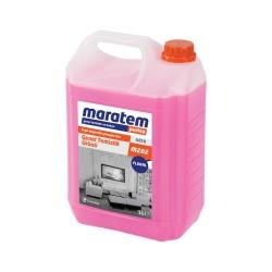 Maratem - Maratem M202 Genel Temizlik Ürünü Çiçek 5lt