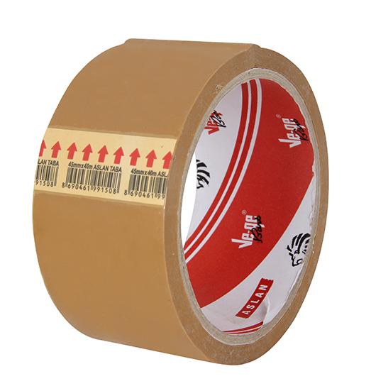 Vege Aslan Koli Bandı 45cmx40m Taba