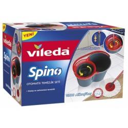 Vileda - Vileda Spino Otomatik Sıkmalı Temizlik Seti