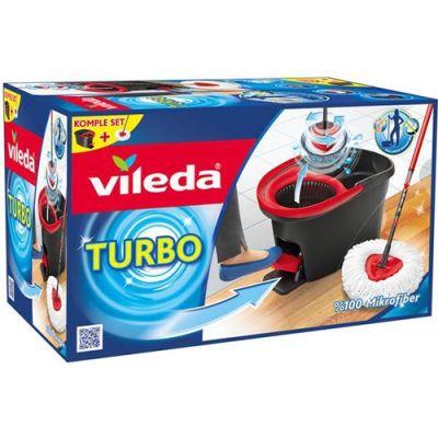 Vileda - Vileda Turbo Pedallı Temizlik Seti