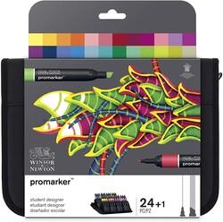 Winsor & Newton ProMarker Çantalı Set 24 Renk - Thumbnail