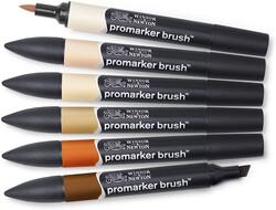 Winsor & Newton ProMarker Ten Renkleri Seti 6lı - Thumbnail