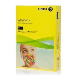 XEROX - Xerox Symphony A4 Renkli Fotokopi Kağıdı 80gr Kanarya Sarısı