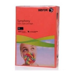 XEROX - Xerox Symphony A4 Renkli Fotokopi Kağıdı 80gr Kırmızı