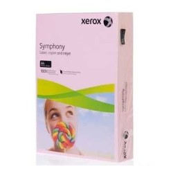 XEROX - Xerox Symphony A4 Renkli Fotokopi Kağıdı 80gr Pembe