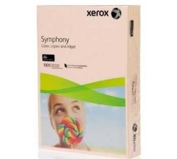 XEROX - Xerox Symphony A4 Renkli Fotokopi Kağıdı 80gr Somon