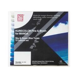 Zig - Zig Mangaka Fine&Brush Cnkc-2200/12Vso 12li